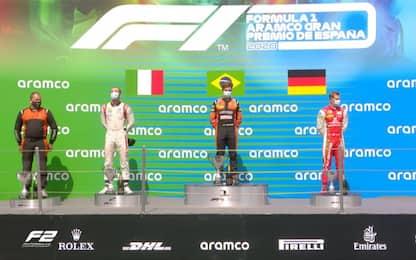 F2, vince Drugovich. Ghiotto e Schumi Jr sul podio