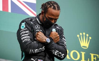 """Hamilton: """"Pensiamo già a vincere prossima gara"""""""