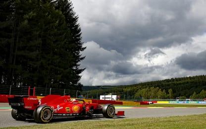 Hamilton vola, la Ferrari non va: le statistiche