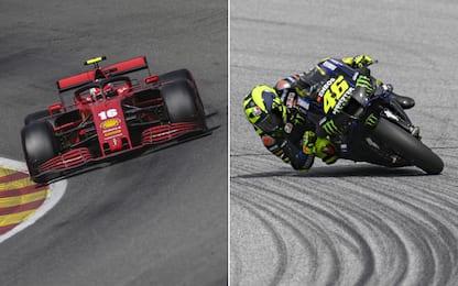 F1 e MotoGP, 4 gare in Italia: tutto live su Sky