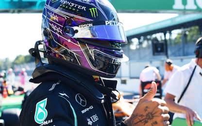 Monza, pole super di Hamilton. Ferrari eliminate
