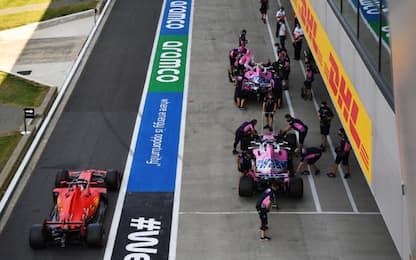 Caso Racing Point: la Ferrari ritira l'appello