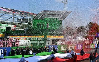 Monza, l'Italia che fa festa è l'Alpha Tauri
