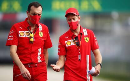 """Vettel ammette: """"Sono stato vicino al ritiro"""""""