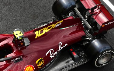 MUGELLO CIRCUIT, ITALY - SEPTEMBER 10: A new dark red livery on the Charles Leclerc, Ferrari SF1000 during the Tuscany GP at Mugello Circuit on Thursday September 10, 2020, Italy. (Photo by Charles Coates / LAT Images)