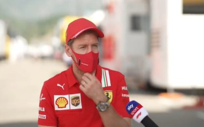 "Vettel a Sky: ""Ho pensato spesso al ritiro"""