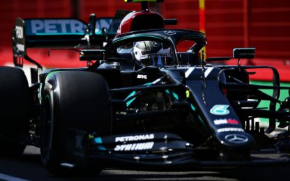 Libere a Bottas. Leclerc 3° e 10°, Vettel si ferma