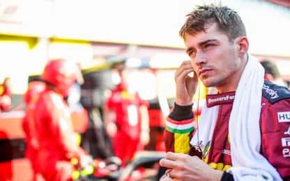 """Leclerc: """"Io motivato, ma qualcosa deve cambiare"""""""