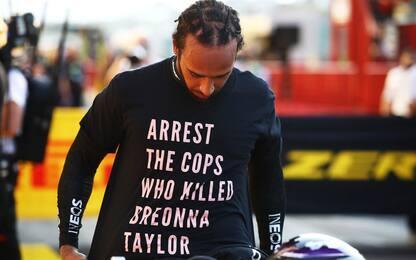 T-shirt Hamilton, nessuna sanzione dalla FIA