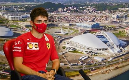 """Leclerc: """"Aggiornamenti a Sochi, siamo motivati"""""""