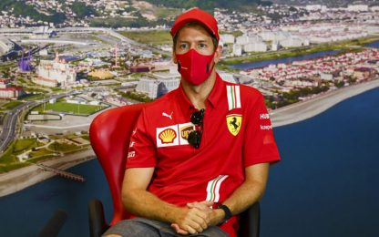 "Vettel: ""Hamilton? Mi spiace, ma merita i record"""