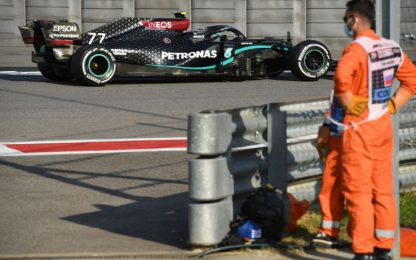 Libere a Bottas. Leclerc 8° e Vettel 10° nelle FP2