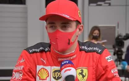 """Leclerc: """"Passo promettente per le qualifiche"""""""