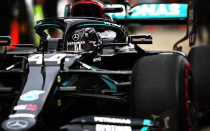 Libere 3 a Hamilton. Vettel 7°, Leclerc 10°