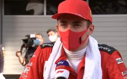 """Leclerc: """"Fatto un passo avanti"""""""
