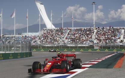 Leclerc ritrova sorriso e costanza a Sochi