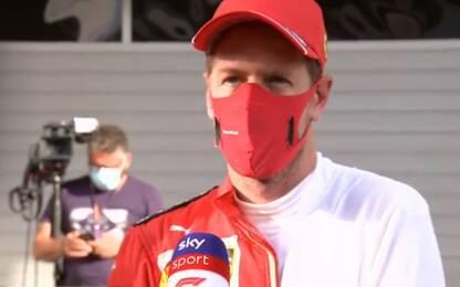 """Vettel: """"Posteriore? Male tutta la macchina"""""""