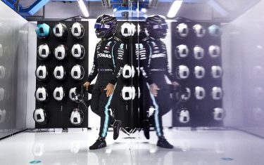 AUTODROMO NAZIONALE MONZA, ITALY - SEPTEMBER 05: Lewis Hamilton, Mercedes-AMG Petronas F1 during the Italian GP at Autodromo Nazionale Monza on Saturday September 05, 2020 in Monza, Italy.