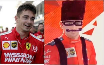 La F1 non va in pista? Leclerc sa cosa fare. VIDEO