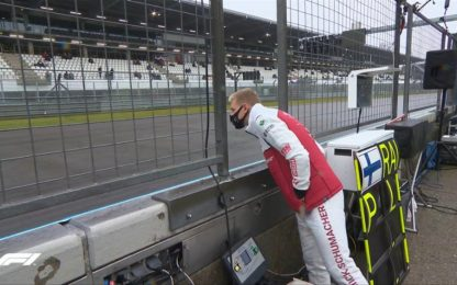 Schumi, dall'attesa al rinvio dell'esordio in F1