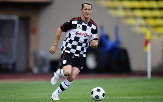 Michael Schumacher (GER) Mercedes AMG F1. Nazionale Piloti Football Match, Louis II Stadium, Monaco, Tuesday 22 May 2012.