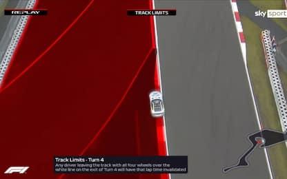 "Nurburgring, la ""guida"" ai track limits. VIDEO"