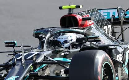 A Bottas le FP3. Leclerc 6°, Vettel 11°