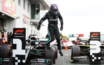 Hamilton vince in Germania: raggiunto mito Schumi
