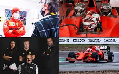 Fiorano, il team di Sky Sport in pista con Leclerc