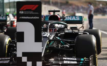 Hamilton numero 1: così è stata la pole a Portimao