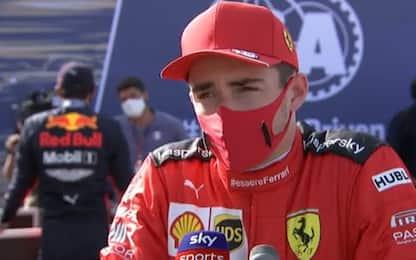 """Leclerc: """"Siamo più veloci, stiamo lavorando bene"""""""