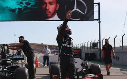 Portimao, la pole è di Hamilton. Leclerc 4°