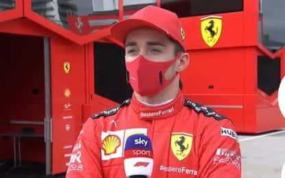 """Leclerc: """"Imola pista emozionante"""""""