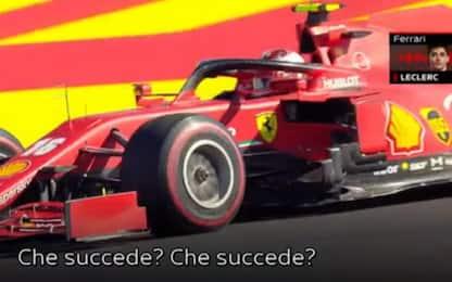 """Leclerc, le interferenze radio: """"Sento Hamilton"""""""