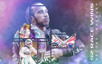 Hamilton, il più vincente nella storia della F1