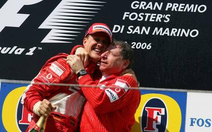 Torna Imola, dove l'uomo dei record è Schumacher