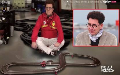 Binotto commenta l'imitazione di Crozza. VIDEO