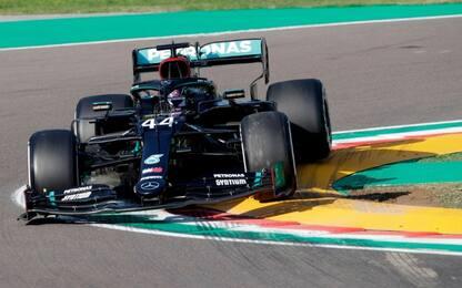 GP Imola, a Hamilton le libere. Leclerc 5°