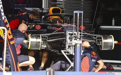 Meccanici Red Bull, altro miracolo per Max! VIDEO