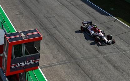 Alfa, rimonta e 3 punti per Raikkonen-Giovinazzi