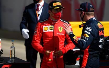 Libere a Verstappen, ma la Ferrari c'è: Leclerc 2°