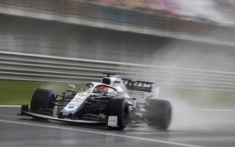 ISTANBUL PARK, TURKEY - NOVEMBER 14: George Russell, Williams FW43 during the Turkish GP at Istanbul Park on Saturday November 14, 2020, Turkey. (Photo by Glenn Dunbar / LAT Images)