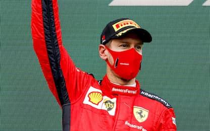 """Vettel torna sul podio: """"Si poteva anche vincere"""""""