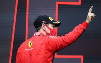 Vettel gara super: capolavoro nella prima parte