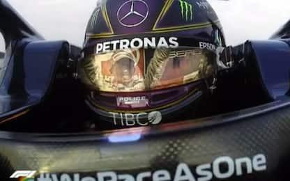 """Hamilton, team radio e lacrime: """"Sempre sognare"""""""