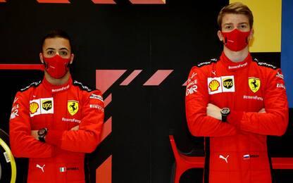Ferrari, Shwartzman e Fuoco nei test di Abu Dhabi