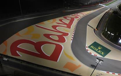 La F1 a Sakhir: GP Bahrain domenica alle 15.10