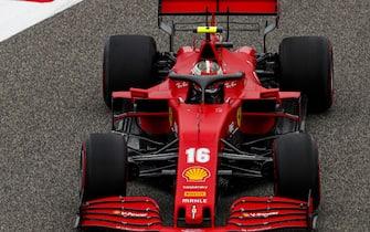 BAHRAIN INTERNATIONAL CIRCUIT, BAHRAIN - NOVEMBER 27: Charles Leclerc, Ferrari SF1000 during the Bahrain GP at Bahrain International Circuit on Friday November 27, 2020 in Sakhir, Bahrain. (Photo by Zak Mauger / LAT Images)