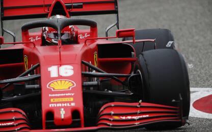 Ferrari: poca velocità, ma buon ritmo con le medie