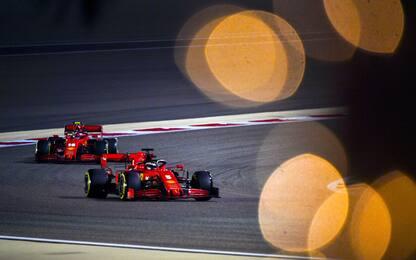 Luci accese in Bahrain: Hamilton, un'altra pole